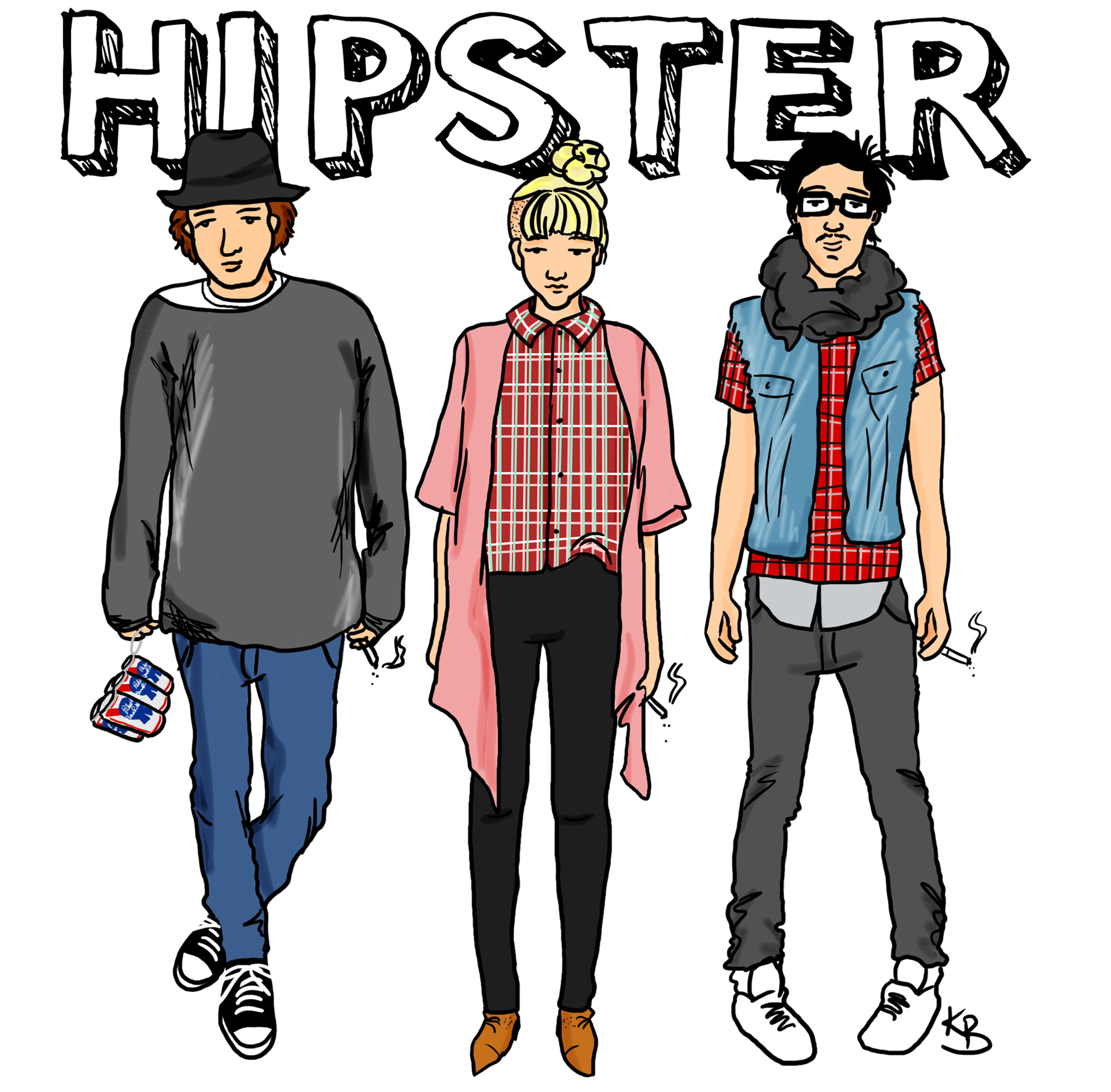 Who are the hipsters 14