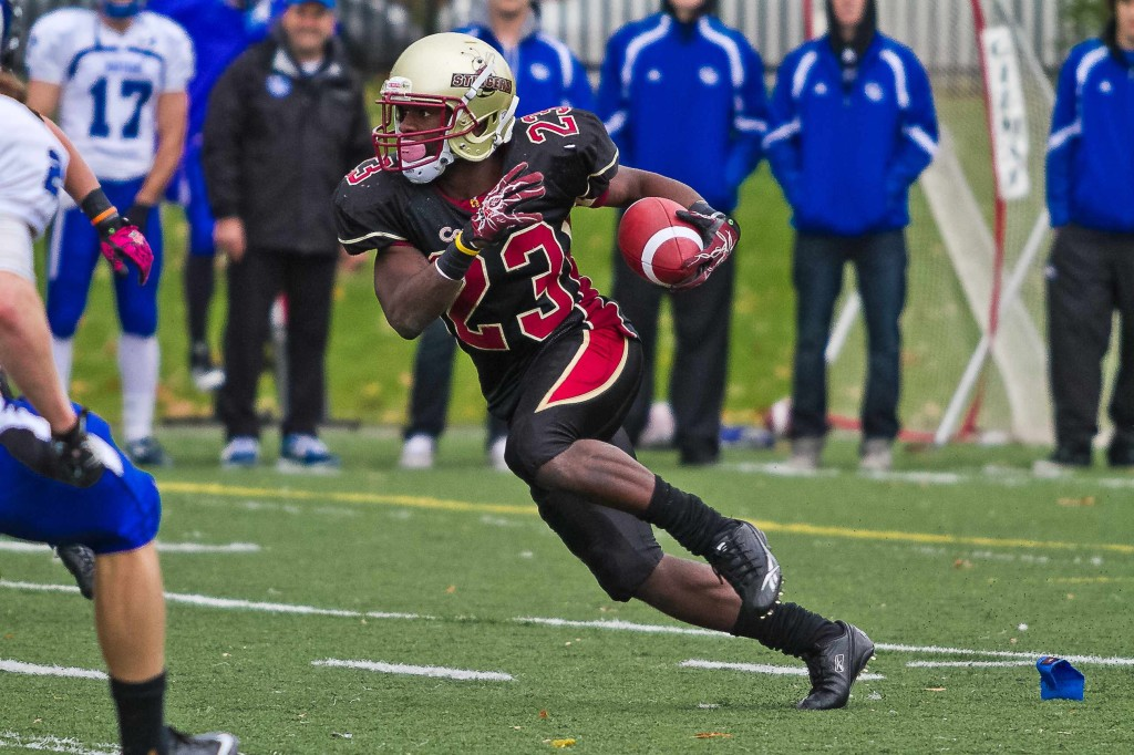 Kris Robertson was selected as the first defensive back in the CFL Draft (Photo by Dom Bernier)