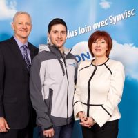 Alex Bilodeau returns to JMSB, fresh of a gold-medal performance in Sochi