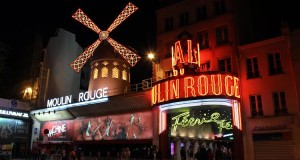 Lights, camera, feathers: a night at the Moulin Rouge
