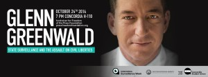 Glenn Greenwald to talk state surveillance at Concordia