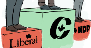 Homework due Fall 2015: studying for the federal election