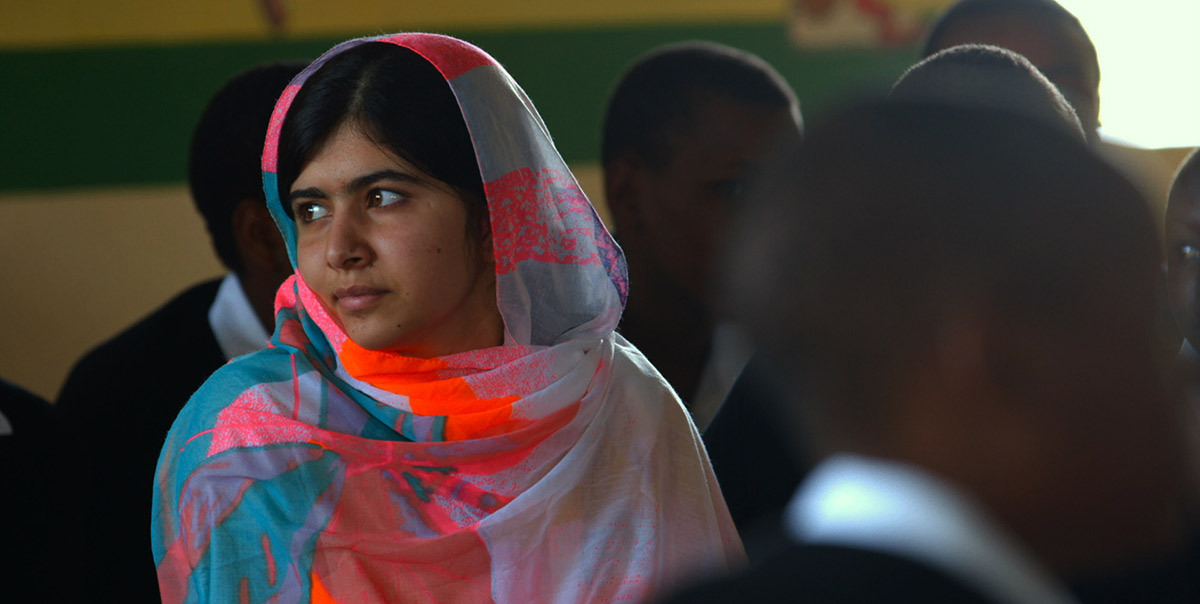 Malala Yousafzai—A Nobel Peace Prize winner and an inspirational fighter and advocator for female education.