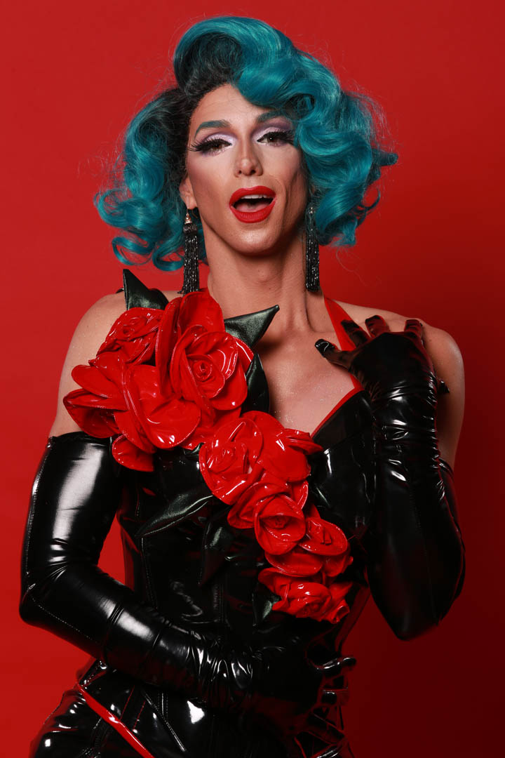 Montreal-based drag queen Billy L'Amour showcasing her glory and glamour. Photo by George Fok.