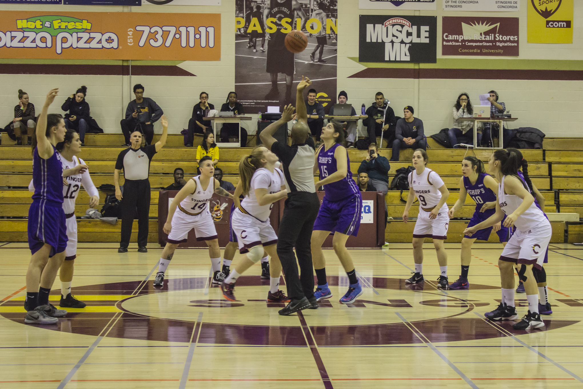 Concordia basketball stings Gaiters at home - The Concordian