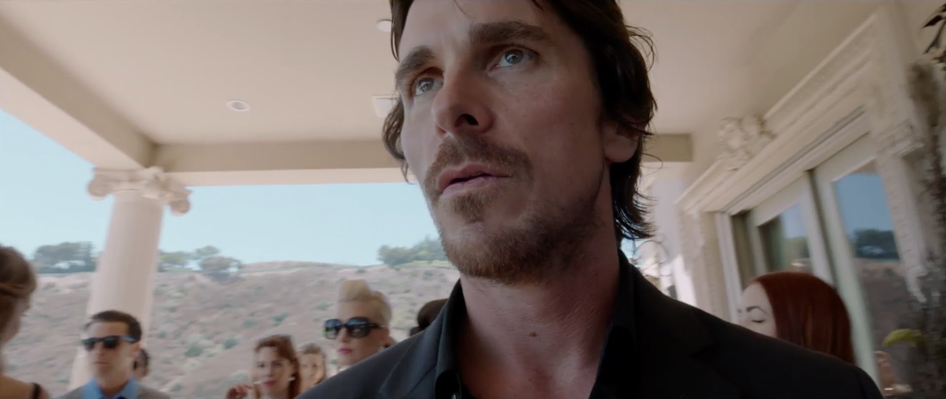 Here, Christian Bale isn't used as a star, but as a man, no more significant than any other.
