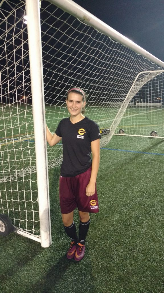 Laura Lamontagne scored four goals with the Stingers last year. Photo by Nicholas Di Giovanni.