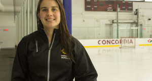 Tracy-Ann Lavigne is beginning her first season as captain with the Stingers. Photo by Ana Hernandez.