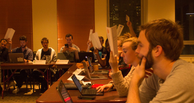 The incident at senate was discussed during CSU council on Oct. 12. Photo by Florence Yee.