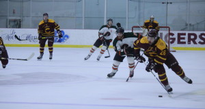 The Concordia Stingers men's hockey team defeated UQTR 6-3 on Friday. Photos by Alex Hutchins.