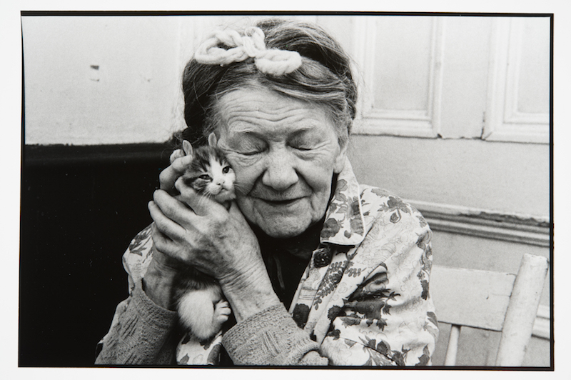 """This photo of Mrs. Thérèse MacGuire by Claire Beaugrand-Champagne is part of her series """"Old People,"""" and is featured in the SHE Photographs exhibition."""