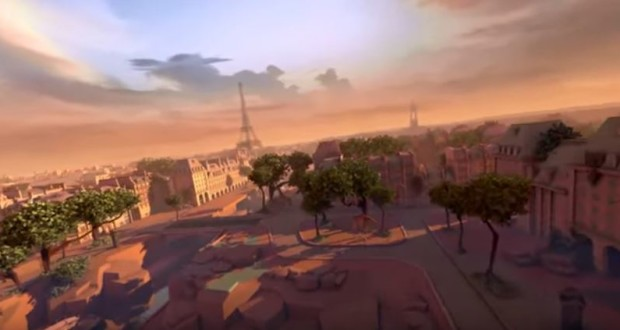 Eagle Flight, created by Montreal video game company Ubisoft, lets participants soar over Paris
