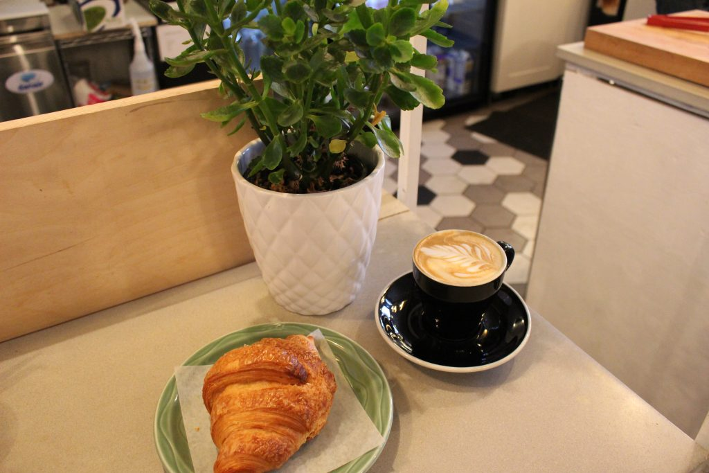 The spot sells classic café treats such as pastries, but also have a brunch and lunch menu. Photo by Danielle Gasher