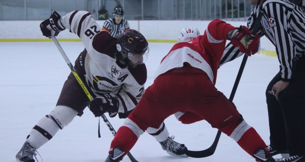The Concordia Stingers were unable to hold off the number-four-ranked Redmen. Photos by Alex Hutchins.