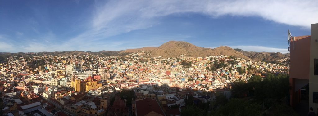 Guanajuato city. Photo by Léandre Larouche.