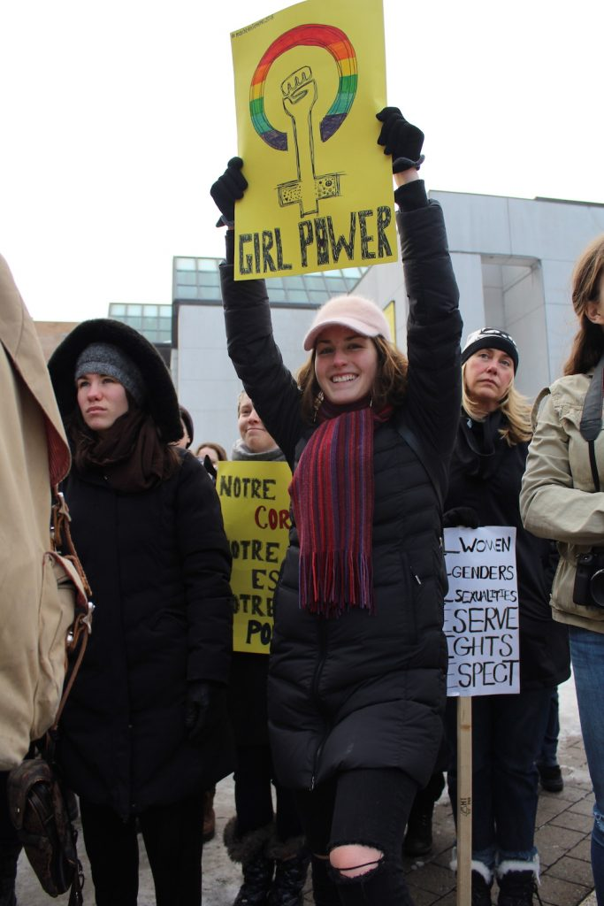 Montreal women march towards social justice - The Concordian