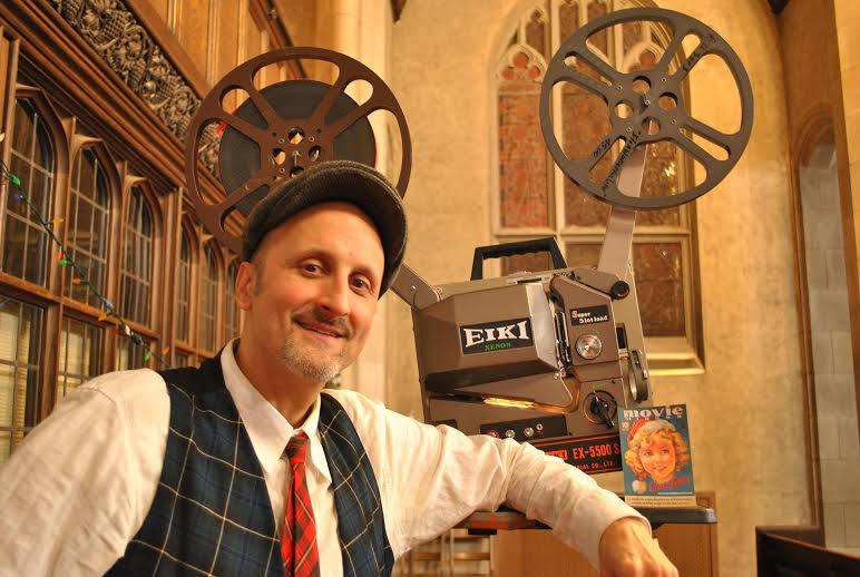 Philippe Spurrell founded the Cinéclub Film Society in 1992. Photo by King-Wei Chu.