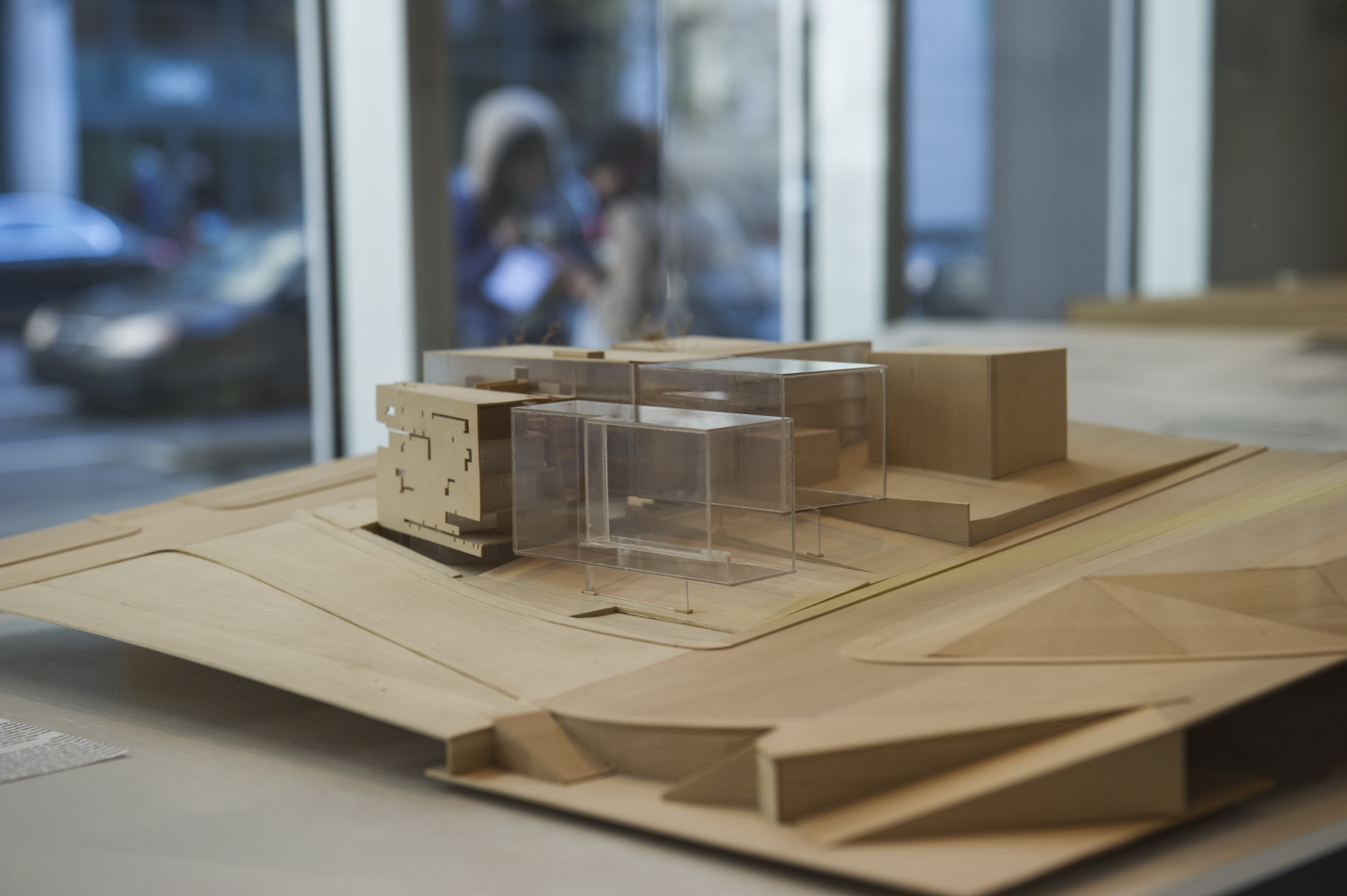 This cardboard model could have become McGill University's Art Pavilion. Photo by Andrej Ivanov.