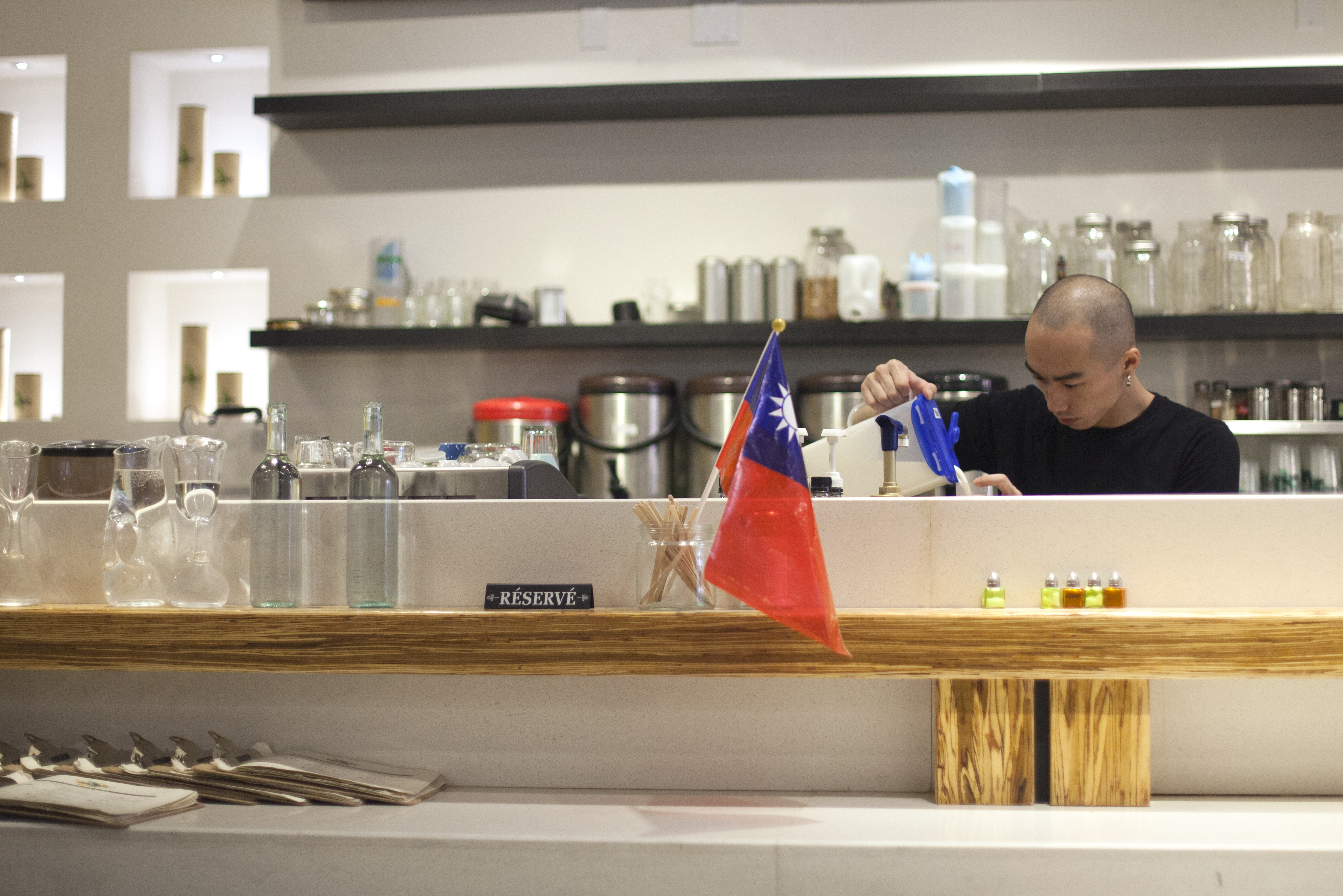 Sit down and order some Taiwanese food or take a bubble tea to go at Nos Thés. Picture by Marie-Pierre Savard.