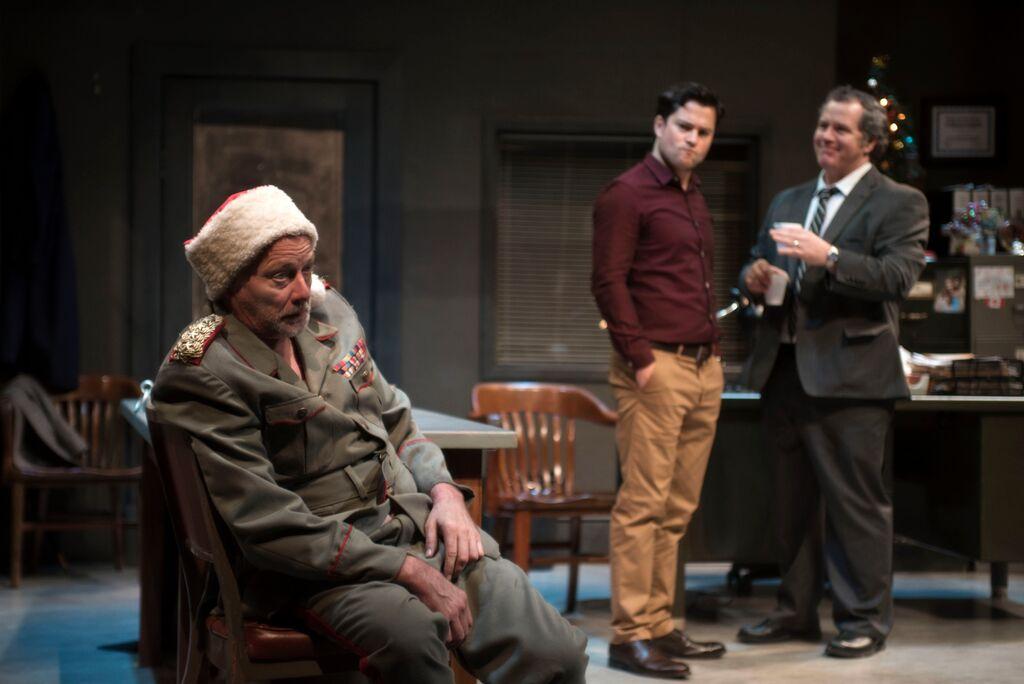 Chip Chuipka, James Loye and Al Goulem star in Concordia graduate Nicolas Billon's new play.