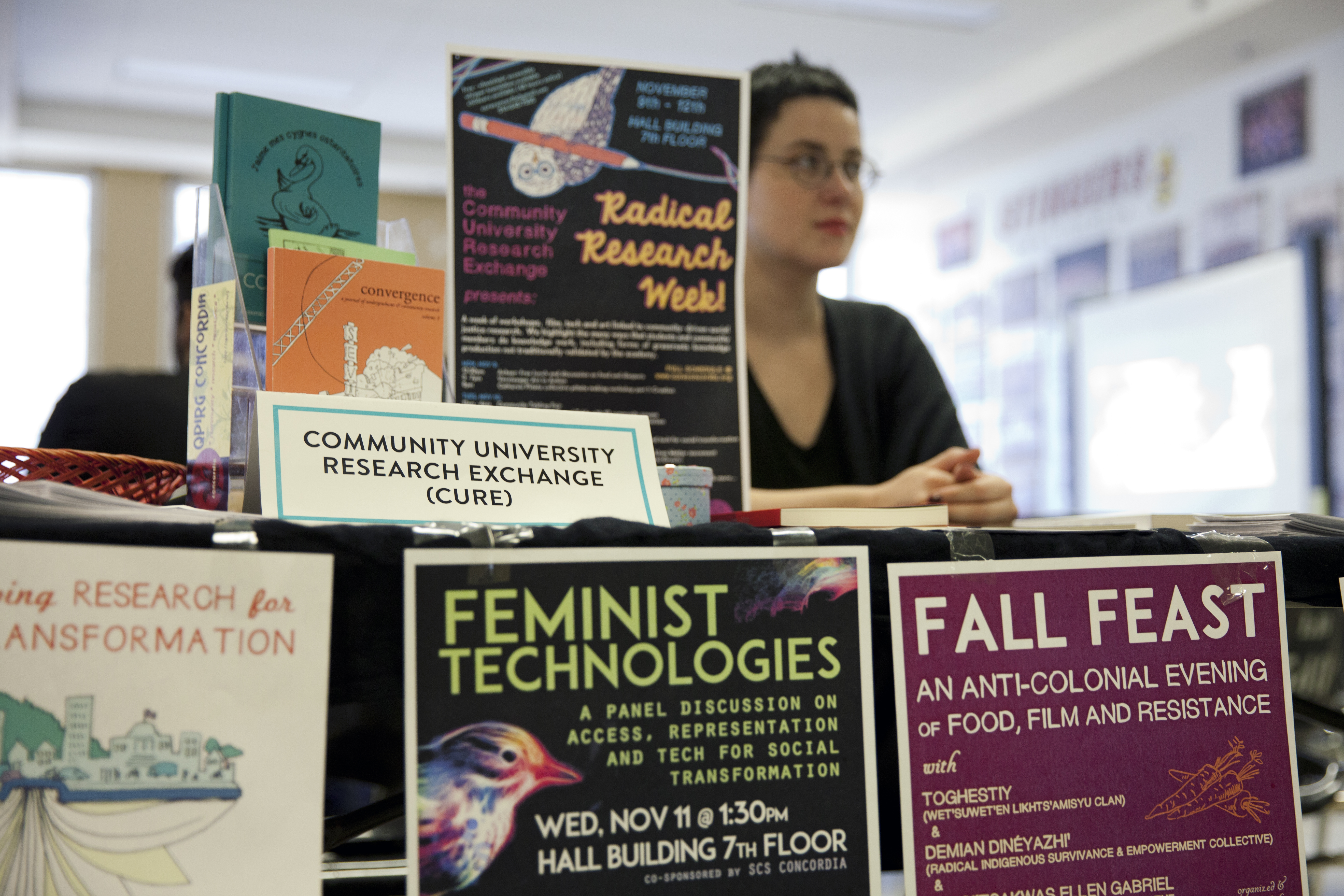 Radical Research Week, which started Monday, is a week of workshops, panels and art about community-driven social justice research. Photo by Marie-Pierre Savard.