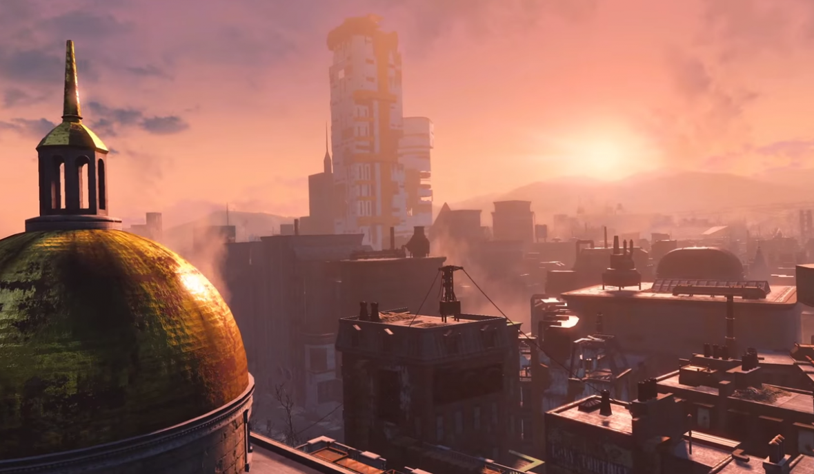 Fallout 4 takes place in post-apocalyptic Boston, where the future meets the past.