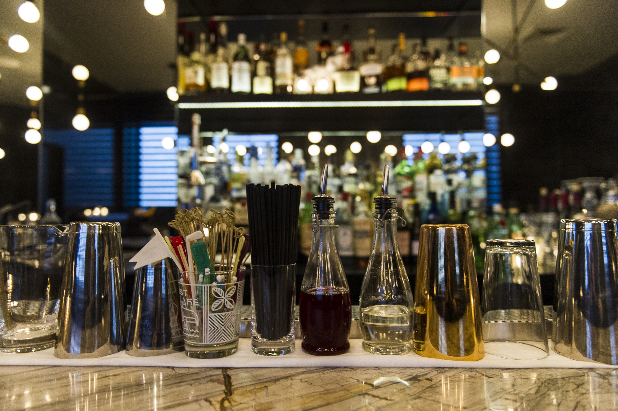 At Cloakroom, bartenders tailor drinks to their customer's liking, based on their preferred alcohol base. Photos by Andrej Ivanov.