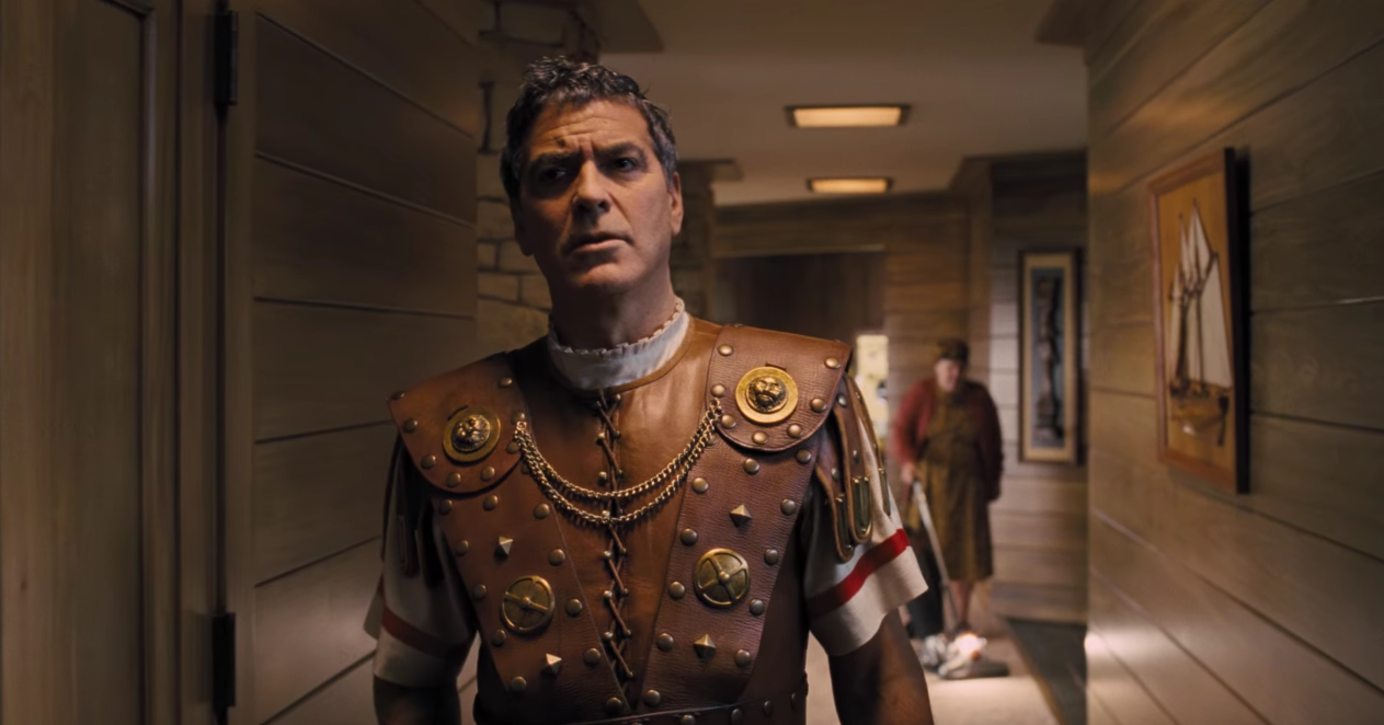 George Clooney stars in Hail, Caesar! as a Kirk Douglas-like 50s superstar.