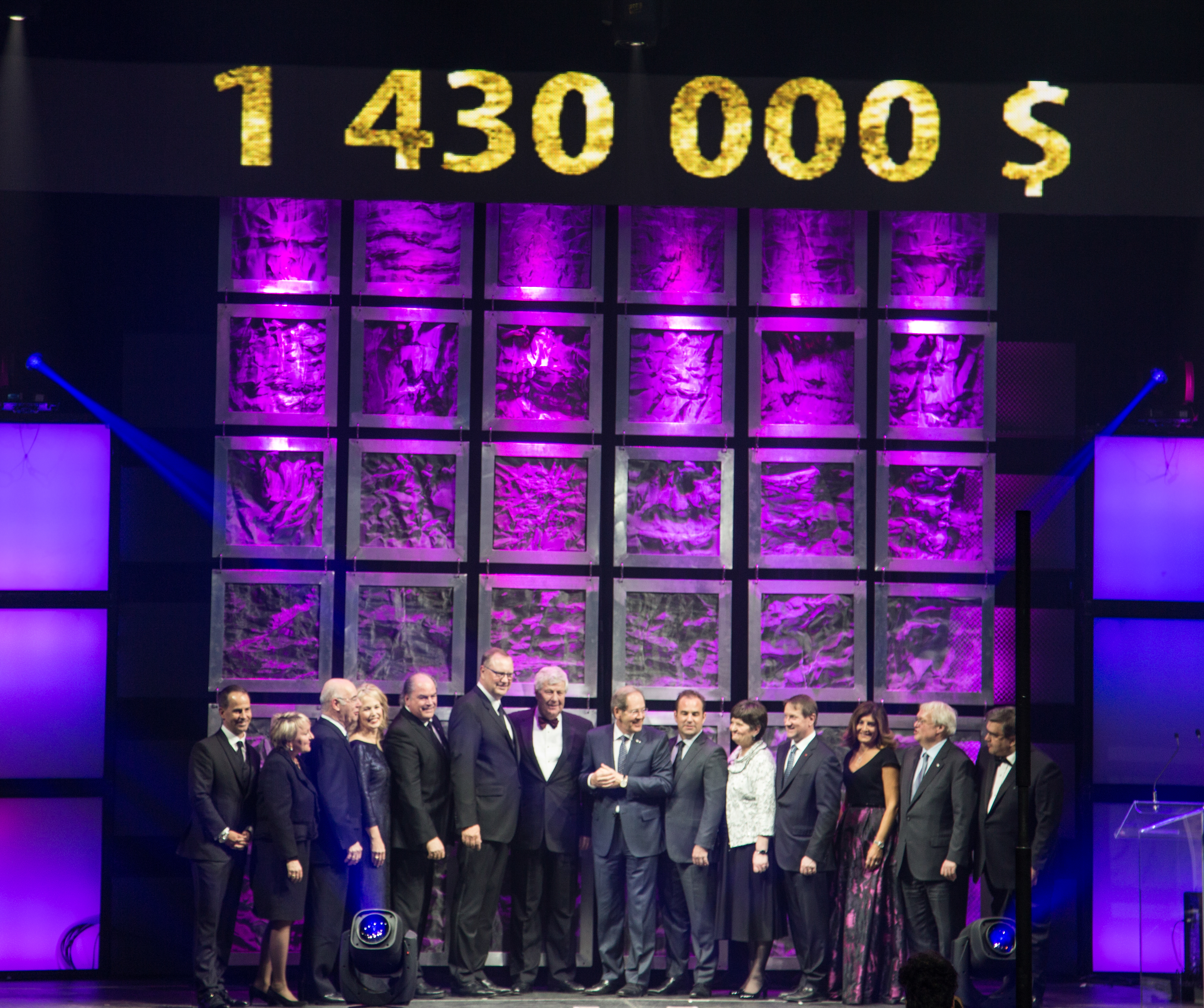The evening grossed $1,430,000 through tickets sold, a raffle and an electronic auction. Photo by Jennifer Selinger.