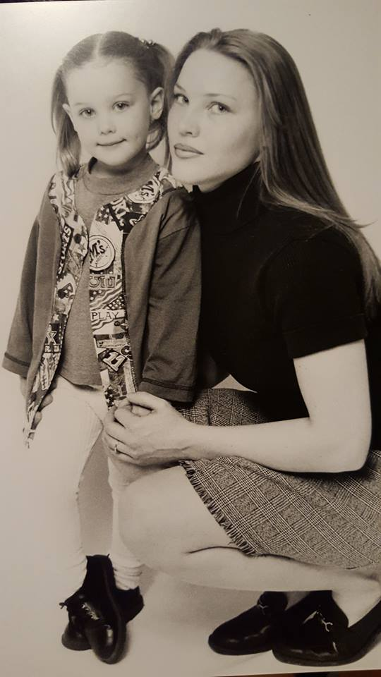 Fiona Maynard at a young age, with her mother. Photo courtesy of Fiona Maynard.