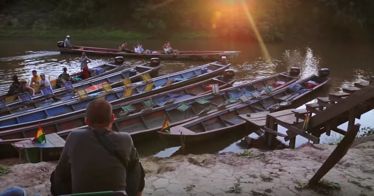 The documentary is a counterbalance to the idealization of exotic places and adventures.